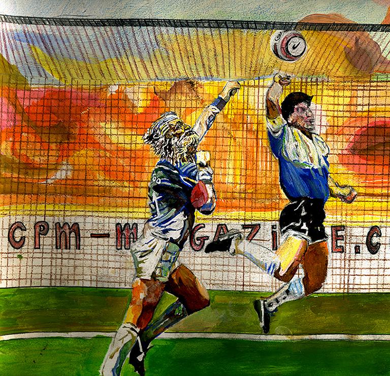 Diego Maradona Cpm Magazine